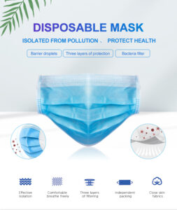 3ply medical face mask specifications