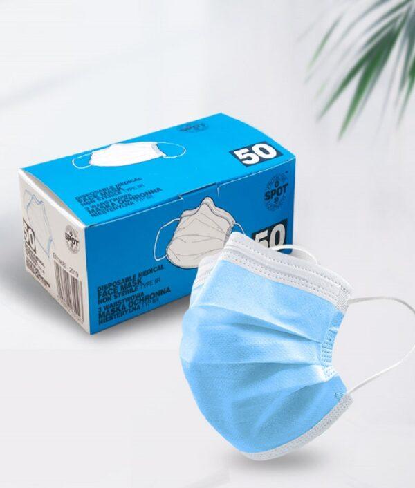 medical face mask supplies 50pcs per box