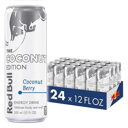 coconut berry edition energy drinks 12 fl oz