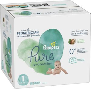 Wholesale Pampers Pure protection. Send us your inquiry now for bulk orders