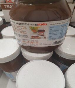 Wholesale nutella chocolate german text