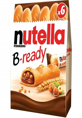 nutella b-ready supplies