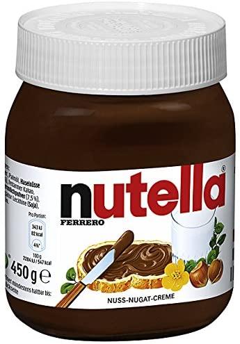 bulk nutella chocolate 450g exports