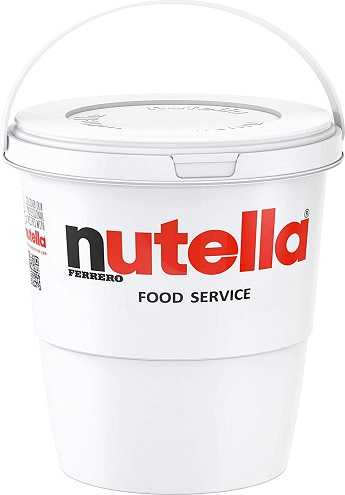 nutella wholesale chocolate bucket 3kg