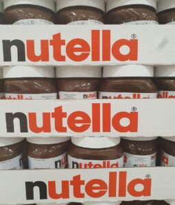 available bulk nutella supplies.