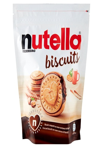 nutellla biscuits ready for export