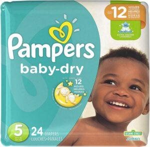 pampers baby dry 5 Jumbo Pack