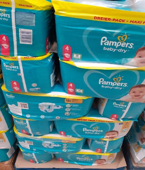 pampers wholesale stock