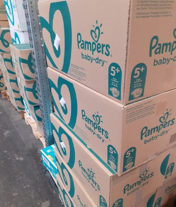 pampers wholesale warehouse