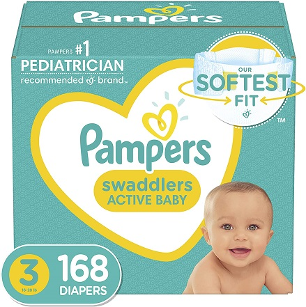 buy pampers swaddlers size 3 on amazon.