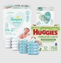 Disposable Sanitary Baby Wet Wipes