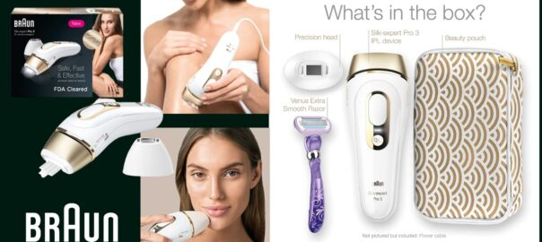 review of Braun silk expert pro 5 hair removal