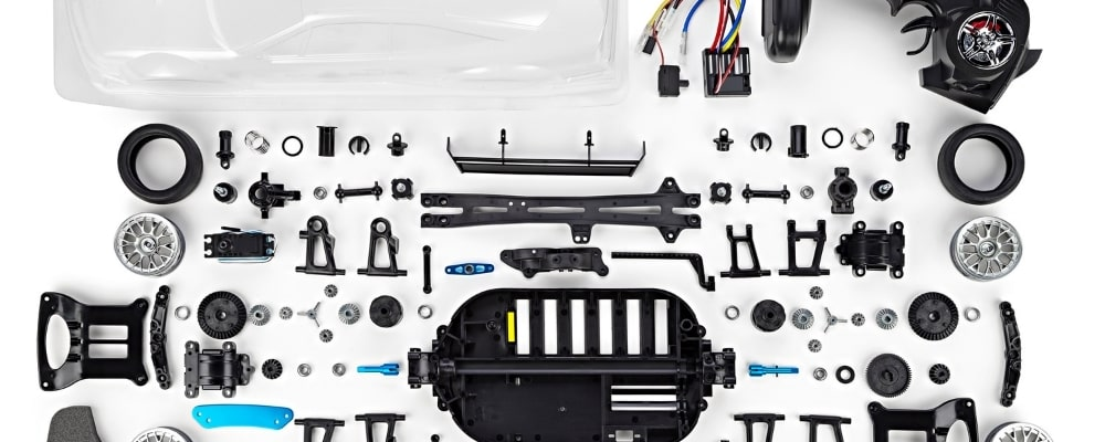 RC Cars Spare Parts as well as that of RC Trucks