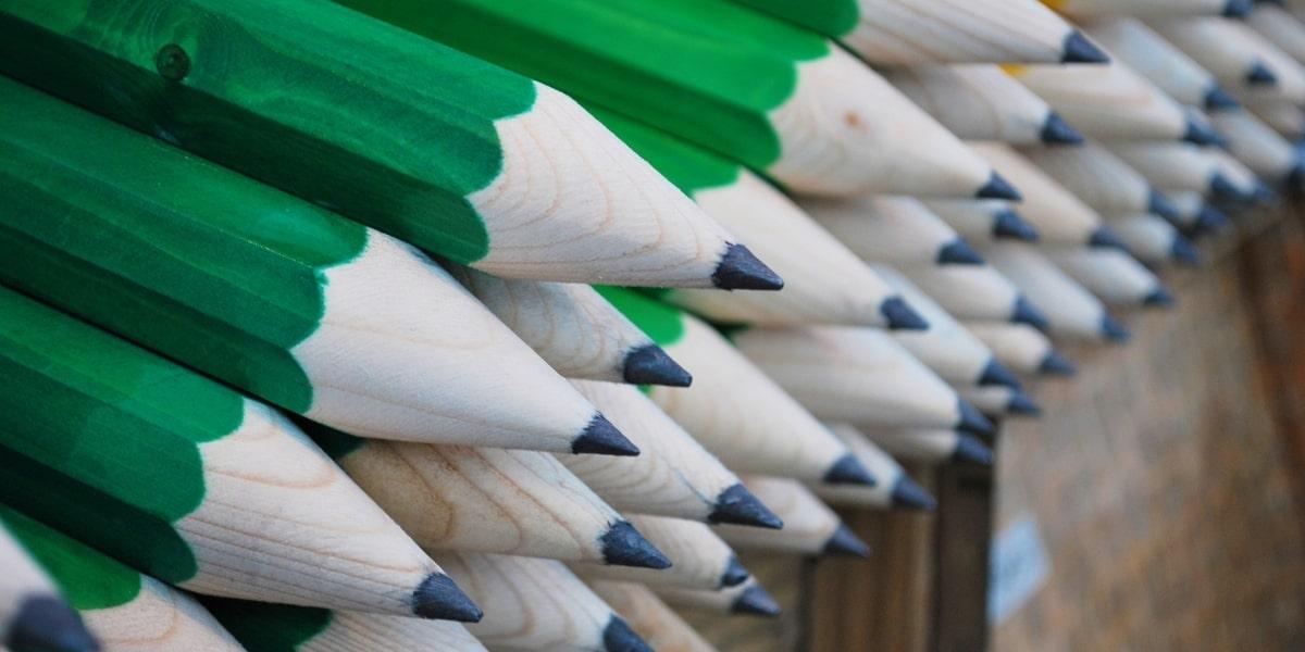 wooden pencil project idea