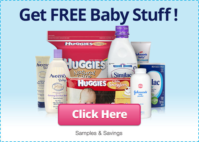 Get free baby stuff by taking a short online survey for customer research purposes.