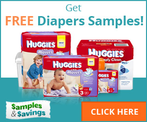 Stand a chance to get free diapers samples like Huggies
